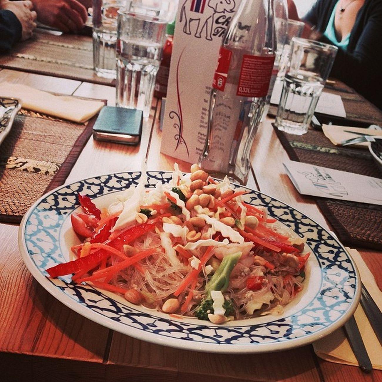 Yam Wun Sen... #mahlzeit Yamwunsen Food Essen Foodporn Mahlzeit Thaifood Instafood Tuttlingen Tweetuptut Foodkoma Changthai