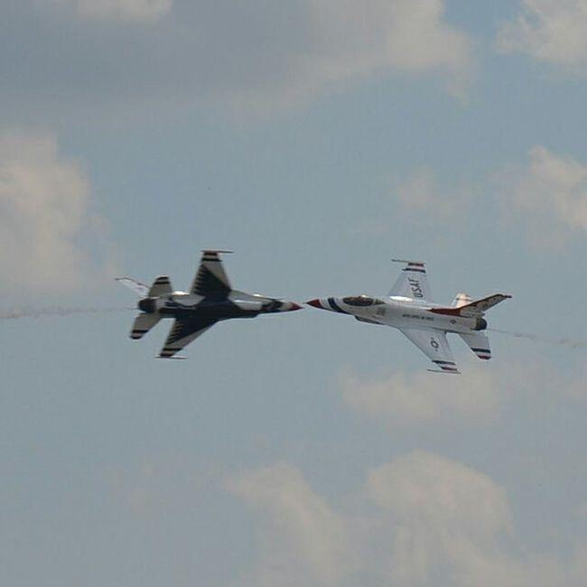 Thunderbirds Wow15 Wingsoverwayne USAF @afthunderbirds