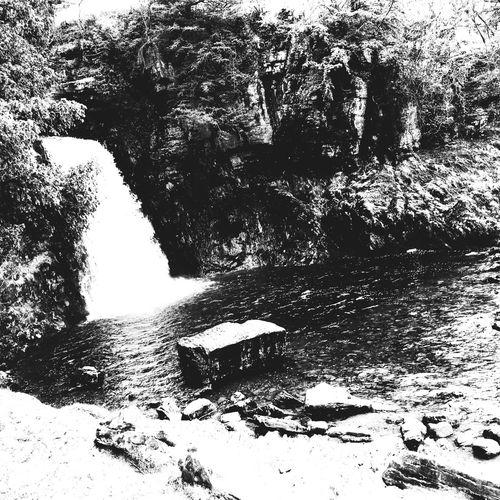 Waterfall💦 Waterfall Water Fall Black And White Walk