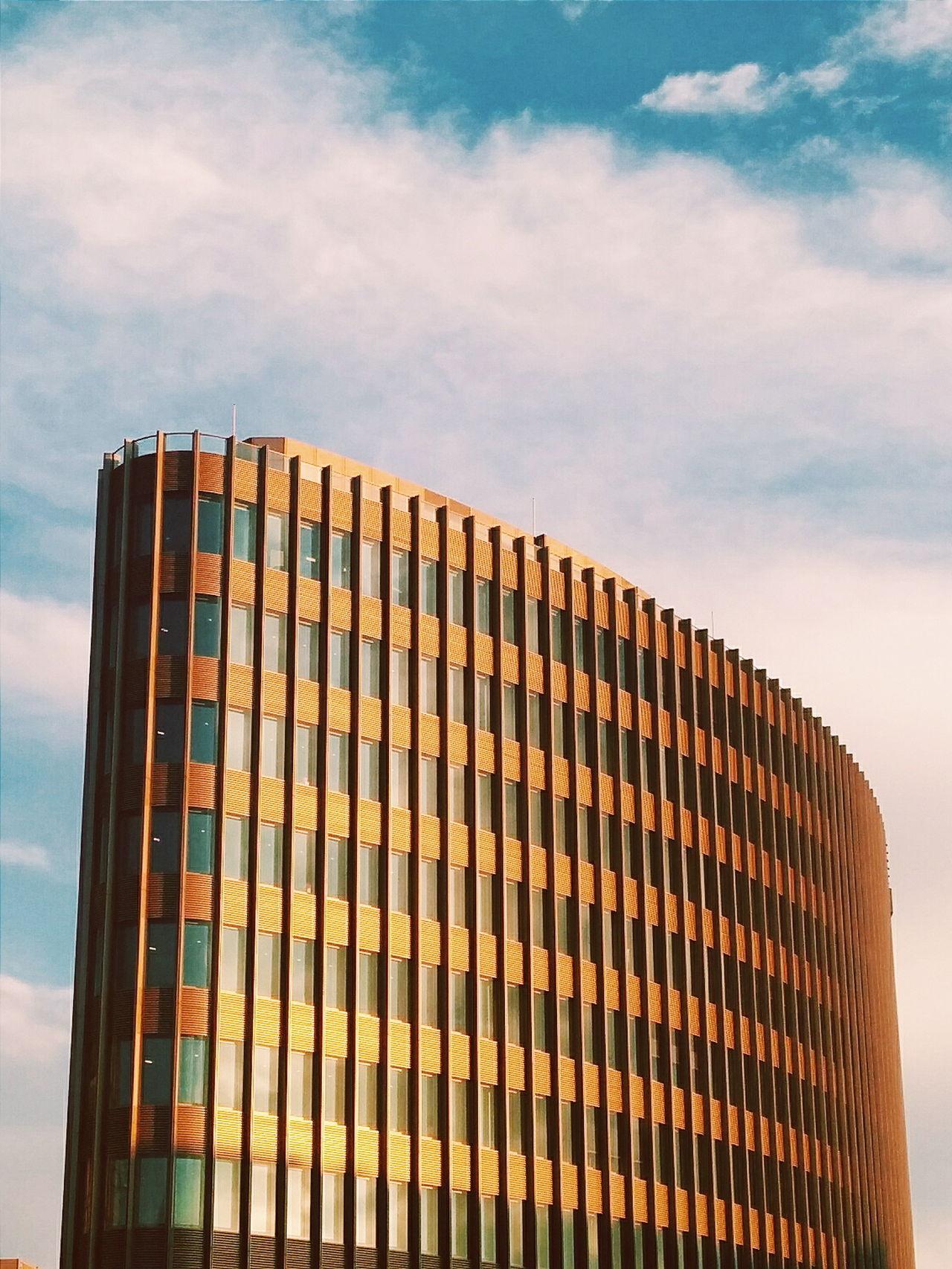 Golden wing. Minimalobsession Golden Hour Berlin Mitte Friedrichstrasse