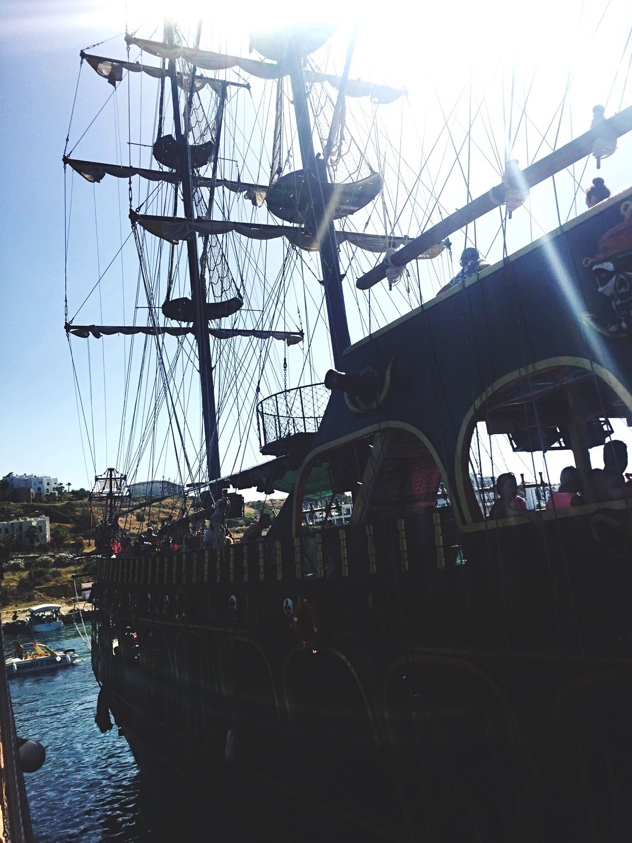 The Journey Is The Destination Boat Pirates Pirateship  Pirates Of The Caribbean Alanya Turkey Live For The Story