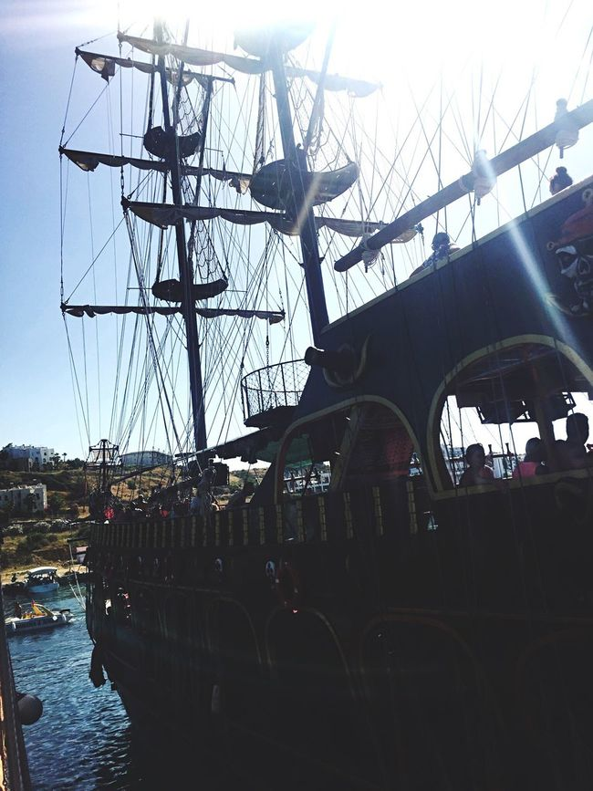The Journey Is The Destination Boat Pirates Pirateship  Pirates Of The Caribbean Alanya Turkey