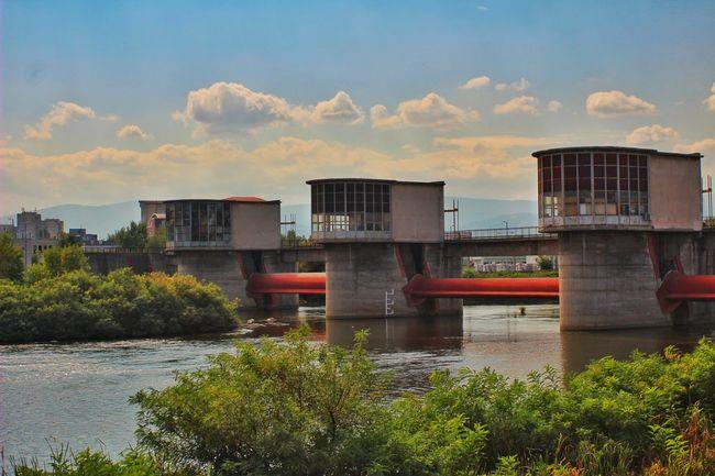 Bridge - Man Made Structure River Sky Waterfront Riverbank Engineering No People Cloud - Sky интересни места в България