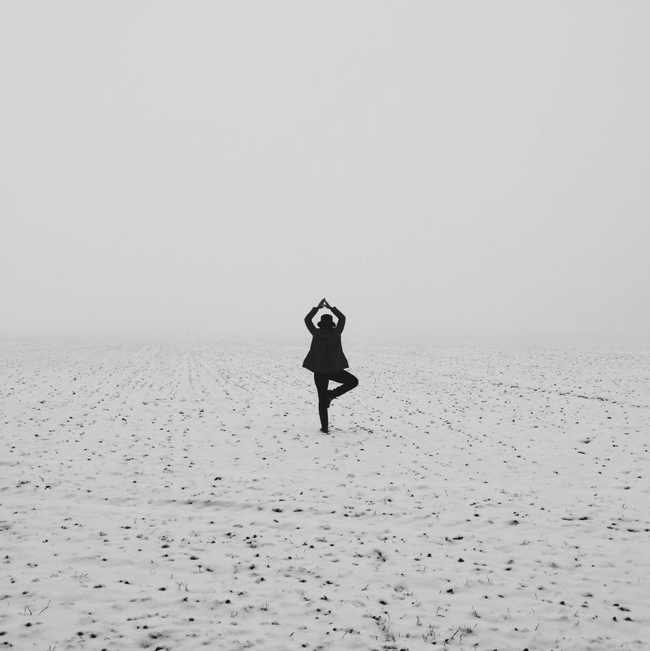 Beautiful stock photos of yoga, Arms Raised, Day, Field, Full Length