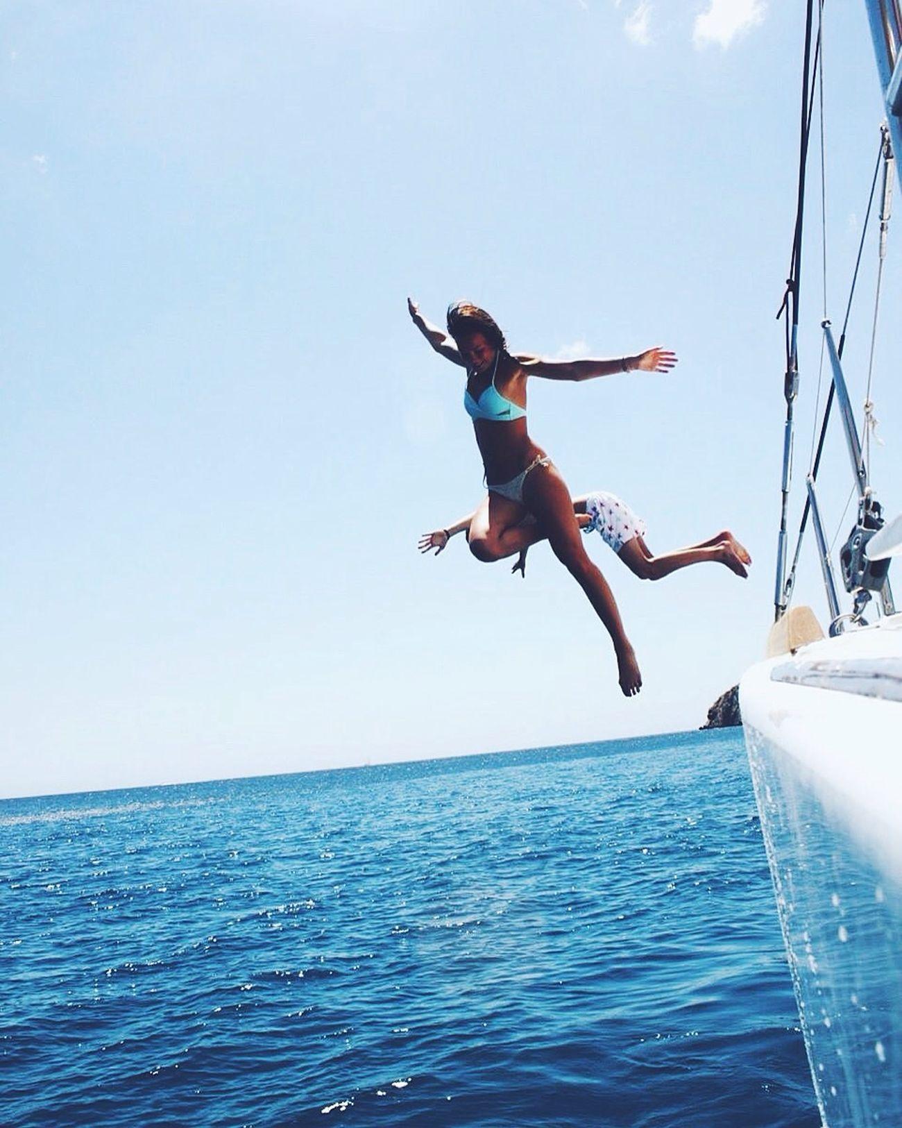 Free as a mermaid Mermaid Beach Ibiza Formentera Bikini Beachbum Skinny First Eyeem Photo