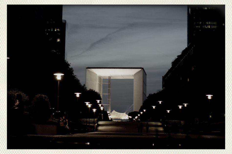 Paris La Défense La Grande Arche Turn Your Lights Down Low