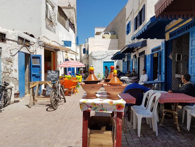 Essaouira, Morocco, tajins
