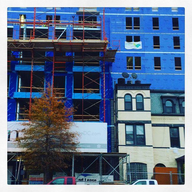 Urban landscape. Washington, D. C. Urbanphotography Urban Streetphotography Blue Architecture