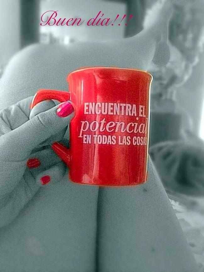 Buen Día! Good Morning Cafe Legs