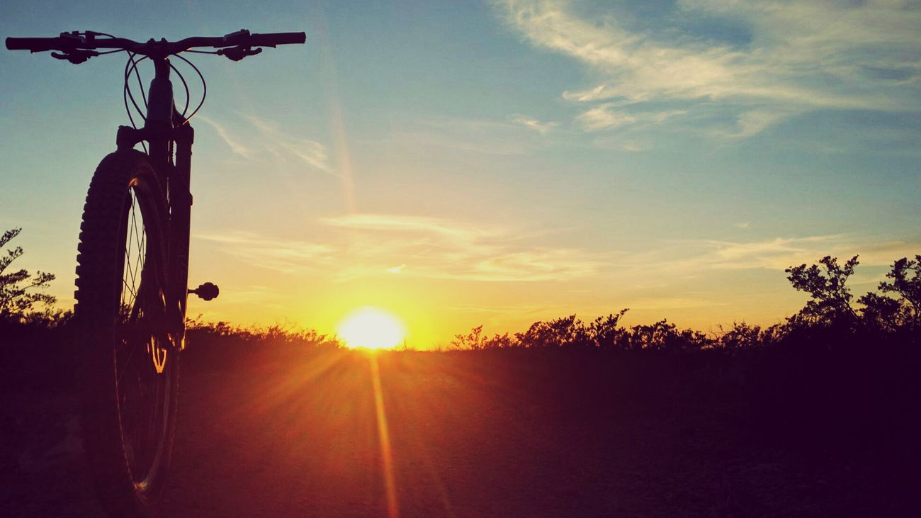 Elpasosunset Mountain Biking Sunset
