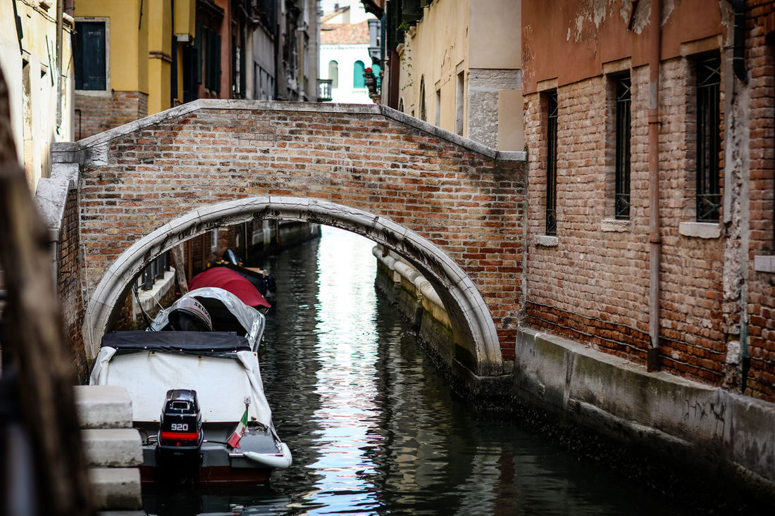 Bridge Bridge Over Water The Week On EyeEm Venice, Italy Water Way Arch Architecture Boats Bridge Bridge - Man Made Structure Building Exterior Built Structure Canal Day Outdoors Venice Water