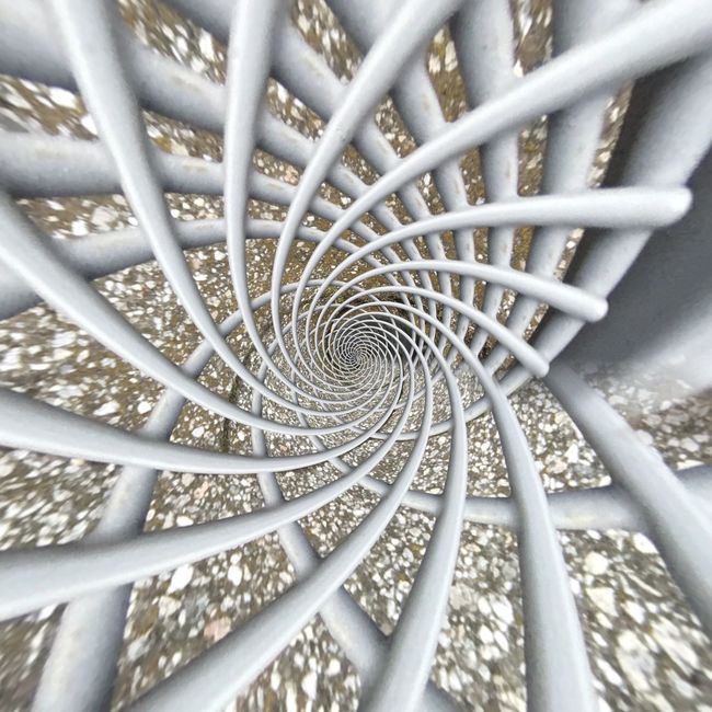 Full Frame Pattern Backgrounds Design High Angle View Repetition Concentric Geometric Shape Coil No People Creativity Architectural Feature Architectural Urbanphotography Urban Urban Geometry Geometry Patterned Complexity Web Networking