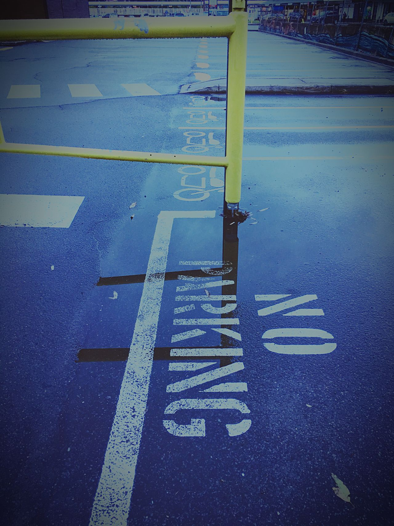 No Parking, not necessarily true 😉 Guidance Yellow Transportation No People Asphalt Outdoors No Parking Reflection Reflections Dcdeoliveira Iceintheattic