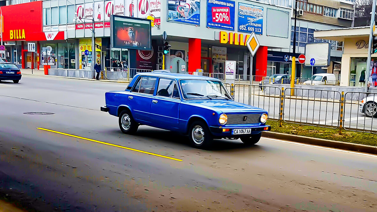 ONE BEATYFULL LADA Outdoors City Day No People Land Vehicle Traffic Mode Of Transport