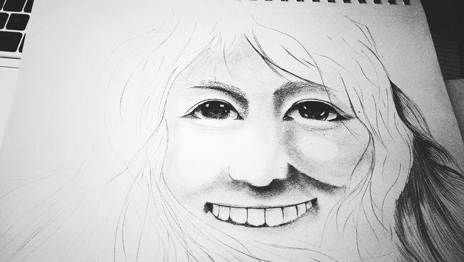 Portrait study Relaxing Enjoying Life Sketch Art, Drawing, Creativity Portrait The Tree Academy Drawing