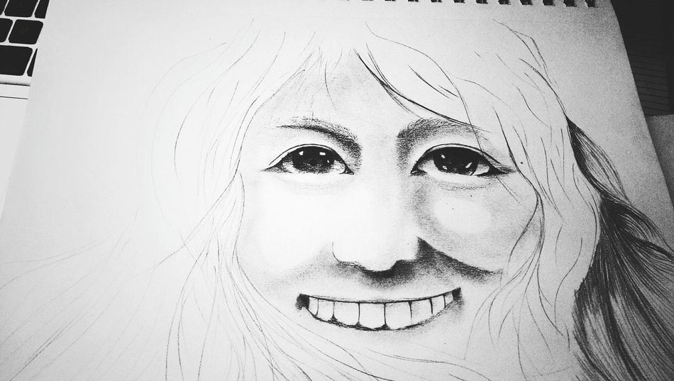 Portrait study Relaxing Enjoying Life Sketch Art, Drawing, Creativity Portrait The Tree Academy Drawing
