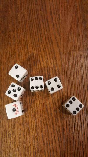 EyeEm Selects Dice Gambling Wood - Material Leisure Games Indoors  Luck Table