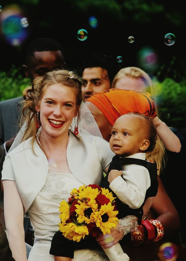 Bride 👰 ¦¦ Togetherness Front View Portrait Girls Flower Leisure Activity Looking At Camera Love Lifestyles Celebration Person Headshot Standing Holding Bonding Tradition Rose - Flower Bouquet Casual Clothing Focus On Foreground Multi Colored Weddingphotography Weddingday  Weddinginspiration Smiling