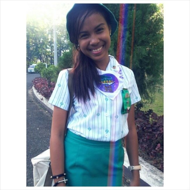 Cadet Girl Scout ?✌ CampMarina2014