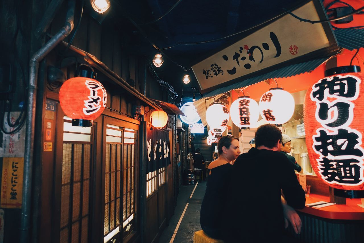 Tokoy in Paris//. -- a very interesting place in Paris. The ramen restaurant itself is decorated in a way that makes you feel like you are in a japaneese street! 😆💕🍜^_^ -- Atmosphere City City Life Citylights Food Japanese Style Life Light Love Miles Away Night Paris People Ramen Restaurant Street Street Photography Travel