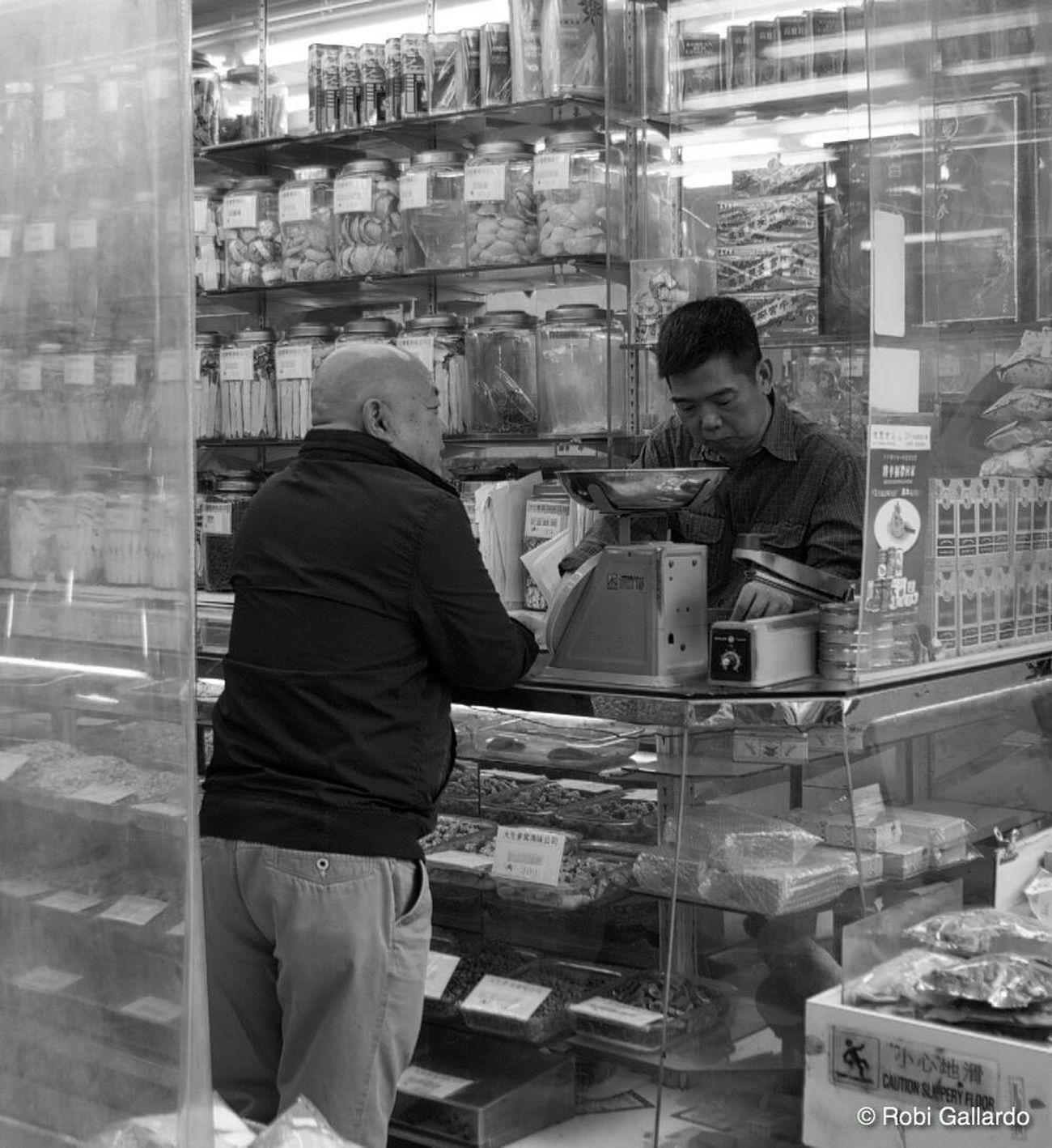 Chinese medicine store Two People Real People HongKong DSLR Pentax Hong Kong Dslrphotography People Eyeem Philippines Monochrome DSLR Photography Street Photography Streetphoto_bw Streetphotography Blackandwhite