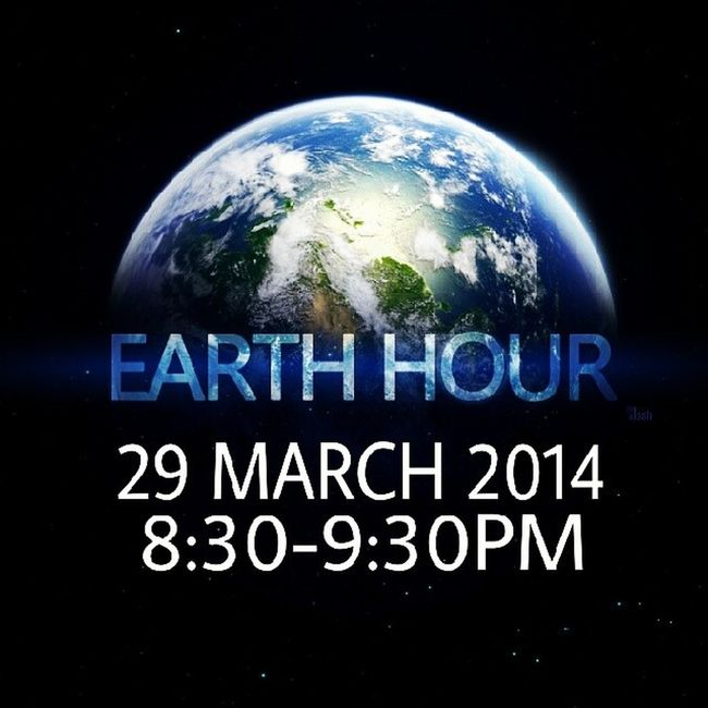Earthhour 60 Earthhourblue Later PLEASE REPOST AND JOIN :)