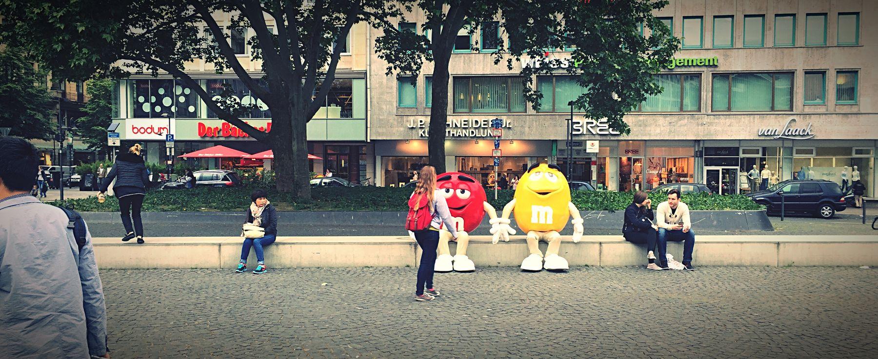 Lookout Sitting M&m's Sweets Theplacesi'vebeentoday Frankfurt