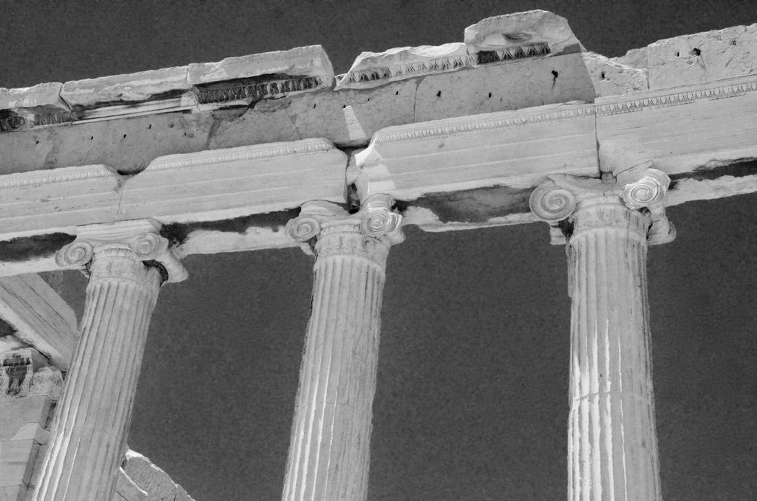 Acropolis Ancient Ancient Civilization Archaeology Architectural Column Architecture Building Exterior Built Structure Capitello Capitello Ionico City Cultures Day History Low Angle View No People Old Ruin Outdoors Place Of Worship Sky The Past Tourism Travel Destinations