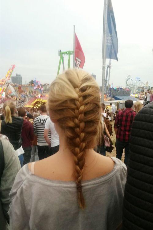 Yesterday Düsseldorf Kirmes Rheinkirmes 2015  Me Girl Fun Love Hair