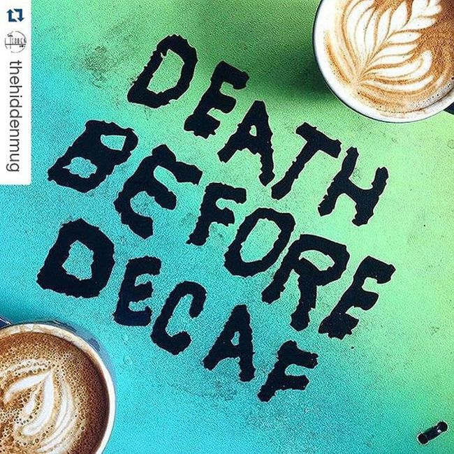 Repost @thehiddenmug with @repostapp ・・・ Pretty much! 💁🏻💀 (Shared by @simi2588) Sweatshop ↟ Brooklyn, NY Thehiddenmug Coffee Latteart Cupsinframe Thatsdarling Coffeeshopcorners Coffiesta Coffeecrawl Coffeedate Decaf Newyork