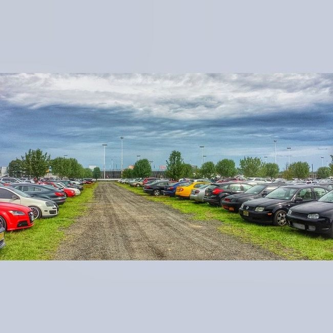 The only parking lot you won't have to worry about getting dinged in. Waterfest