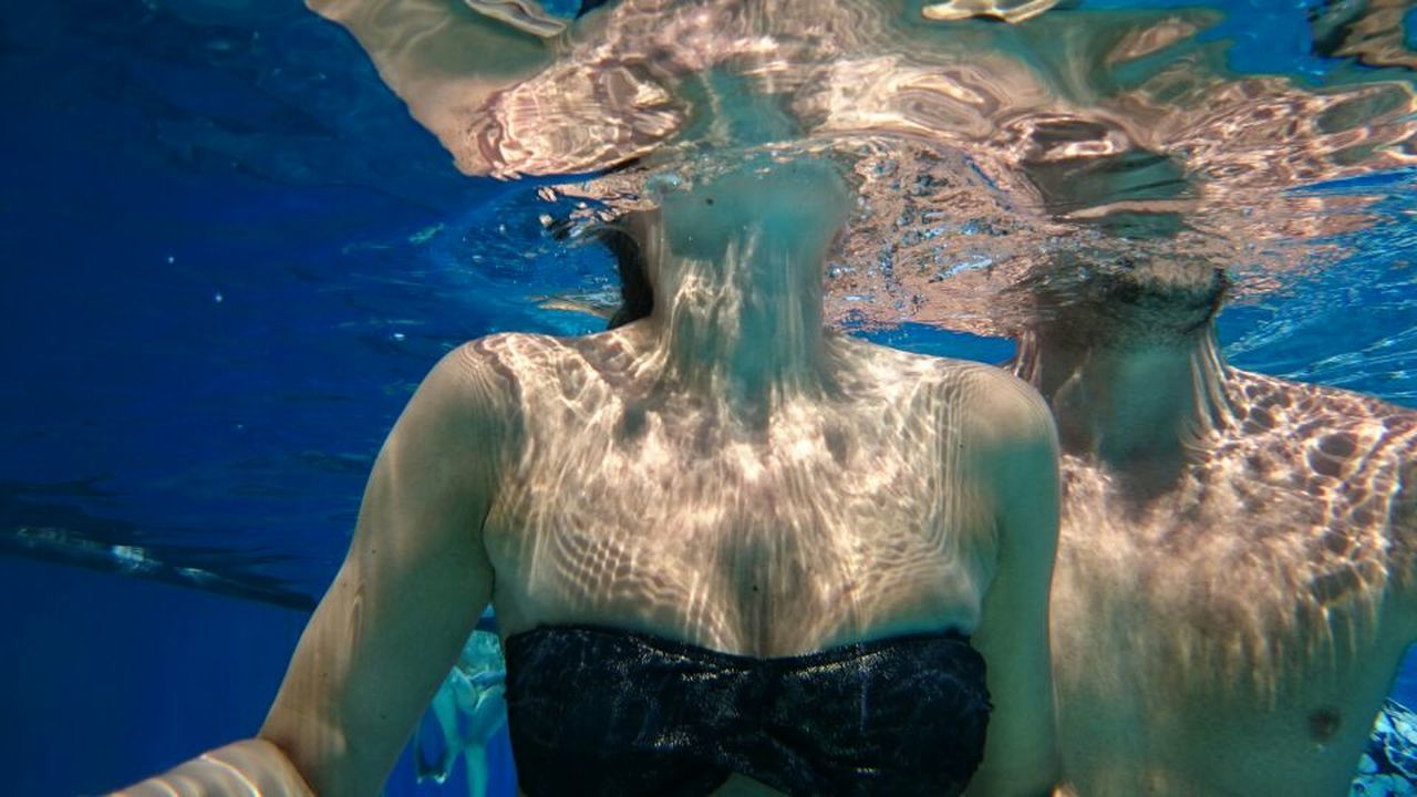 Underwater Pic! Water Reflections