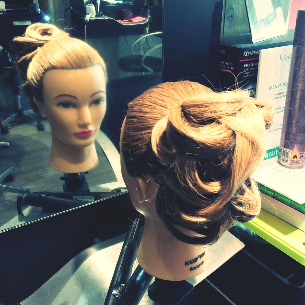 Coiffure Hairdressing Creation Chignon