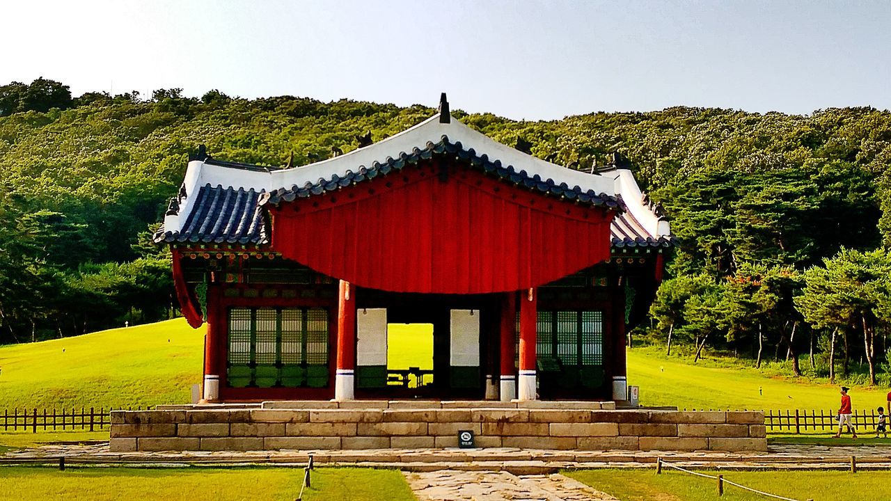 Historical Architecture Historical Site Korea Traditional Architecture Beautiful Landscape