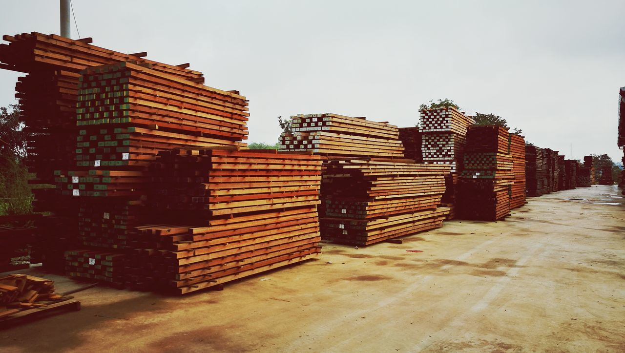 Lumber Product Wood Sawmill Pahang, Malaysia Industrial Pattern Export Bundle