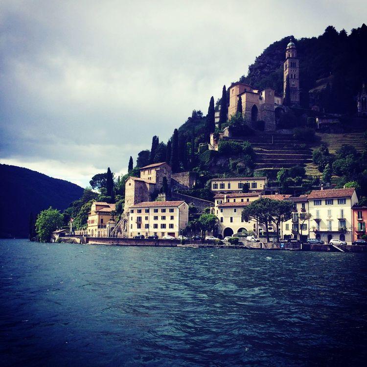 Nature Lakelugano Switzerland Sampling Lugano