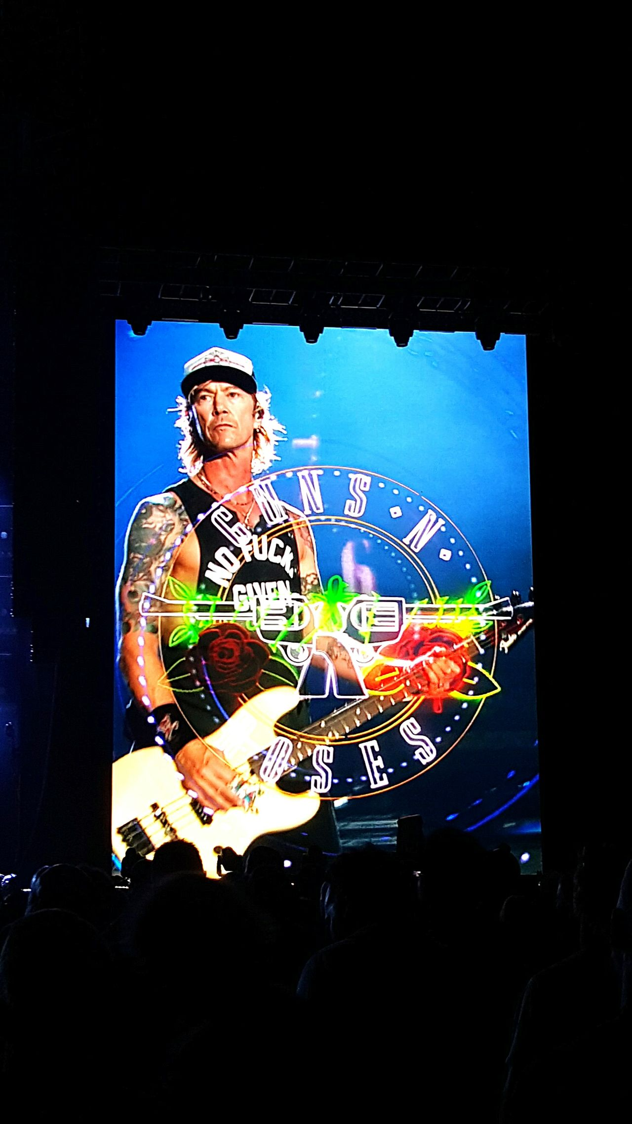 Guns N' Roses Duff Mckagan Not In This Lifetime Western Springs Auckland February 4 2017 Rock Rock N Roll Hard Rock Concert HeadbangersFest Epic Concert Welcome To The Jungle Bassist Adult Musician Stage - Performance Space Music