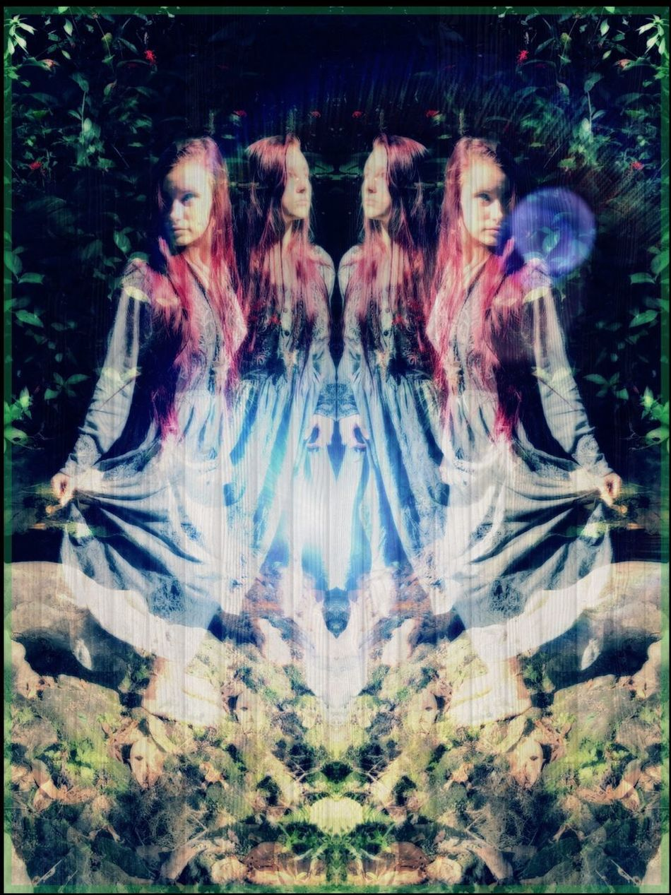 Energy Water Nature Multiple Image Beauty Outdoors DMT Abstract Fairy Elf