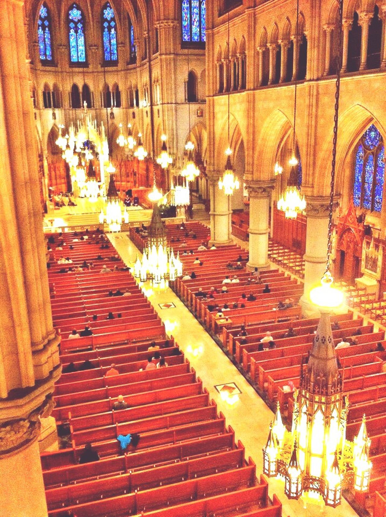 Cathedral Basilica of the Sacred Heart Cathedral Basilica Newark Newark Nj  Nj Newark Eastern Seaboard New Jersey Architecture Chandeliers Pews Worship