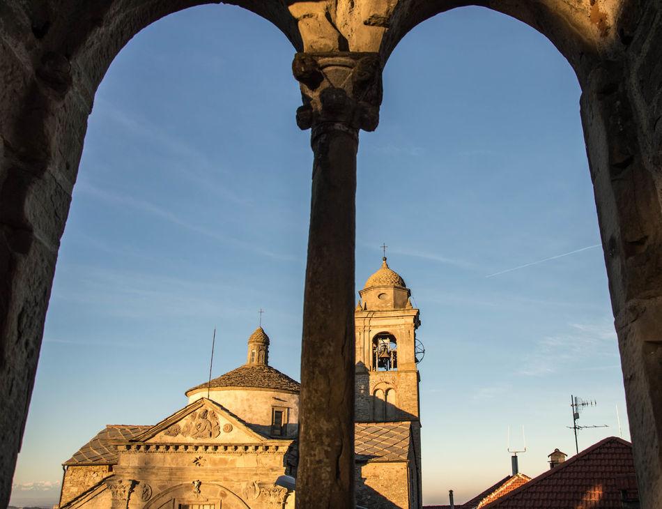 Arch Architecture History Italy Medieval Piemonte Roccaverano Sky_collection