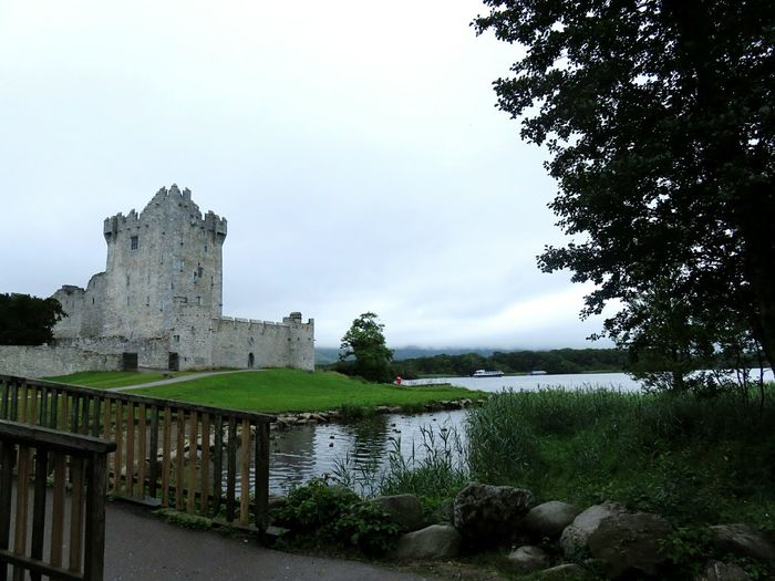 Ross Castle Castle History Lakeshore Ireland Kerry Killarney National Park