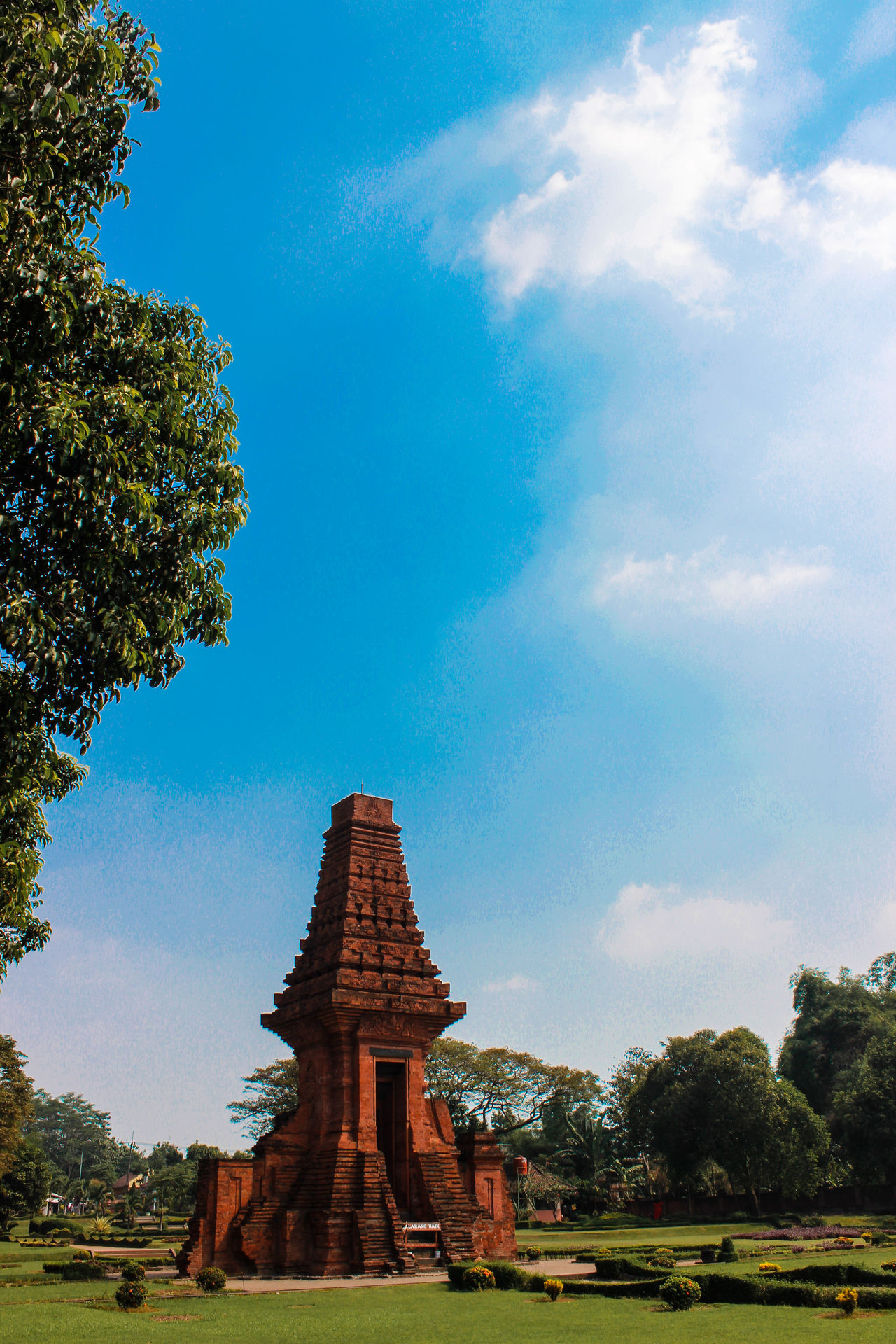 Temple in Mojokerto Indonesia Architecture History Live For The Story Low Angle View Nature No People Old Ruin Outdoors Religion Spirituality Travel Destinations