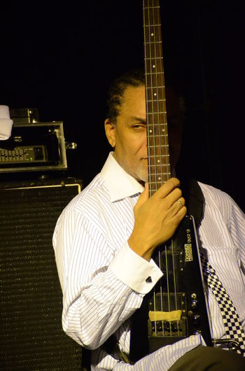 Artista Arts Culture And Entertainment Bass Guitar Bergamo Reggae Sunfest Music Musical Instrument Musicista The Skatalites Val Douglas