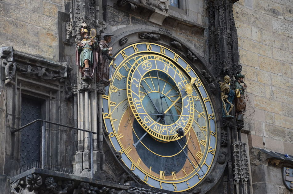 Apostles Architectural Feature Architecture Astronomical Clock City Clock Czech Republic Day Dial Horloge Mechanism Old Town Square Orloj Orloj-Prague Outdoors Prague Sun Time Travel Destinations Zodiac Photography