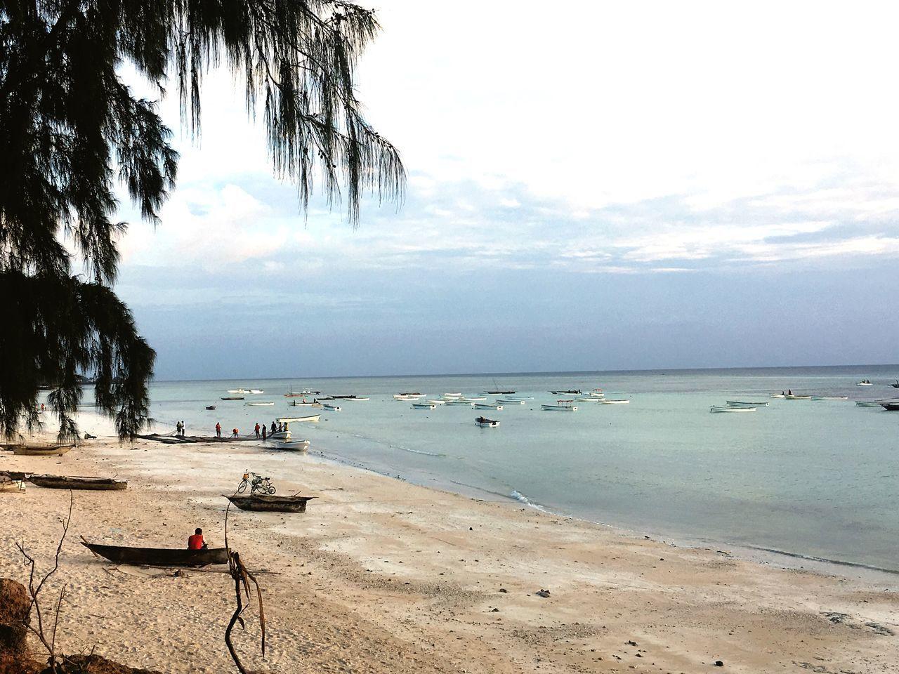 Fisherman Fishermansvillage Kizimkazi Zanzibar Morning Sky Sea And Sky Zanzibar🏊🏄🎣