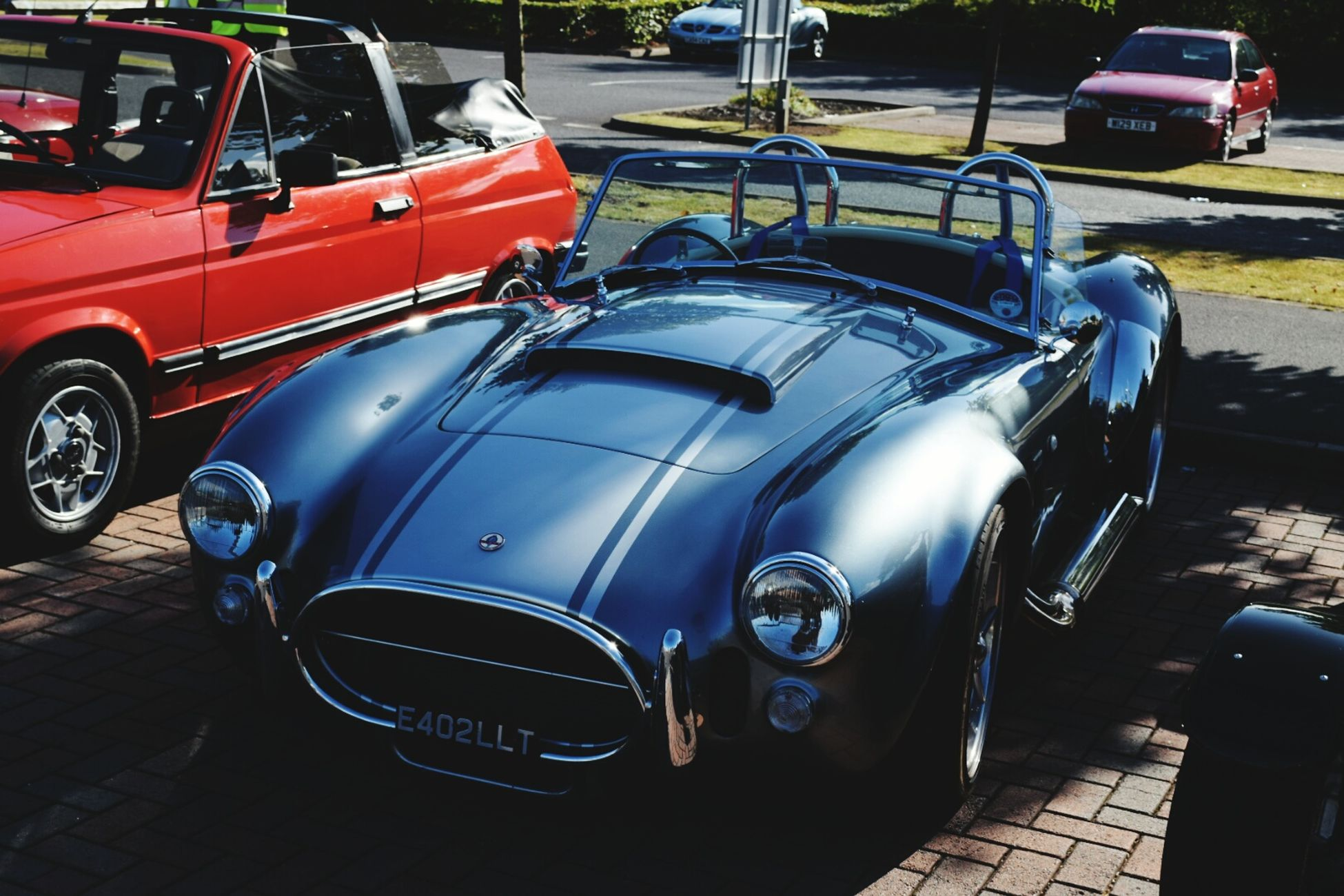 AC Cobra. classic cars. Love It . At An Exhibition