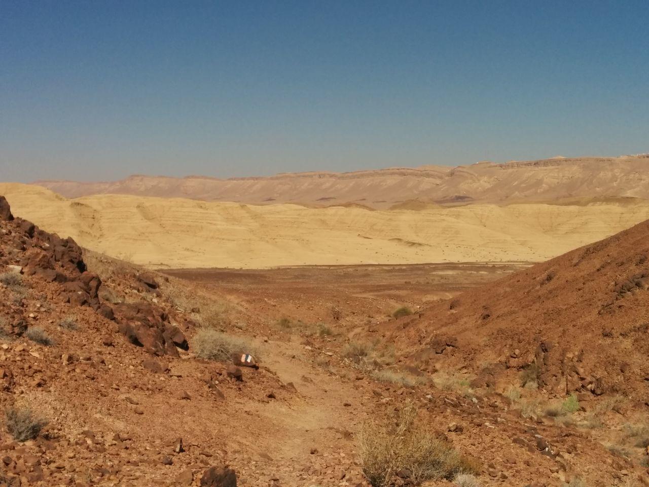 Trekking Negev  Desert Israel