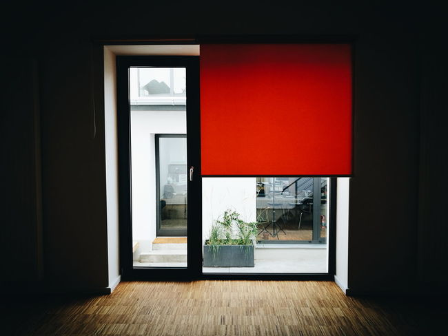 Window Red Entrance No People Indoors  The Color Of Business TakeoverContrast Eye4photography  Mobilephotography Taking Photos Hanging Out HuaweiP9 Still Life Vscocam VSCO Interior Design Interior Interior Views Light And Shadow