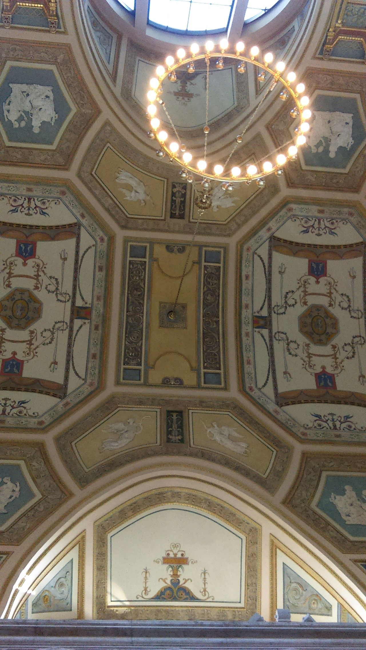 Detroit Institute Of Art ceiling detail