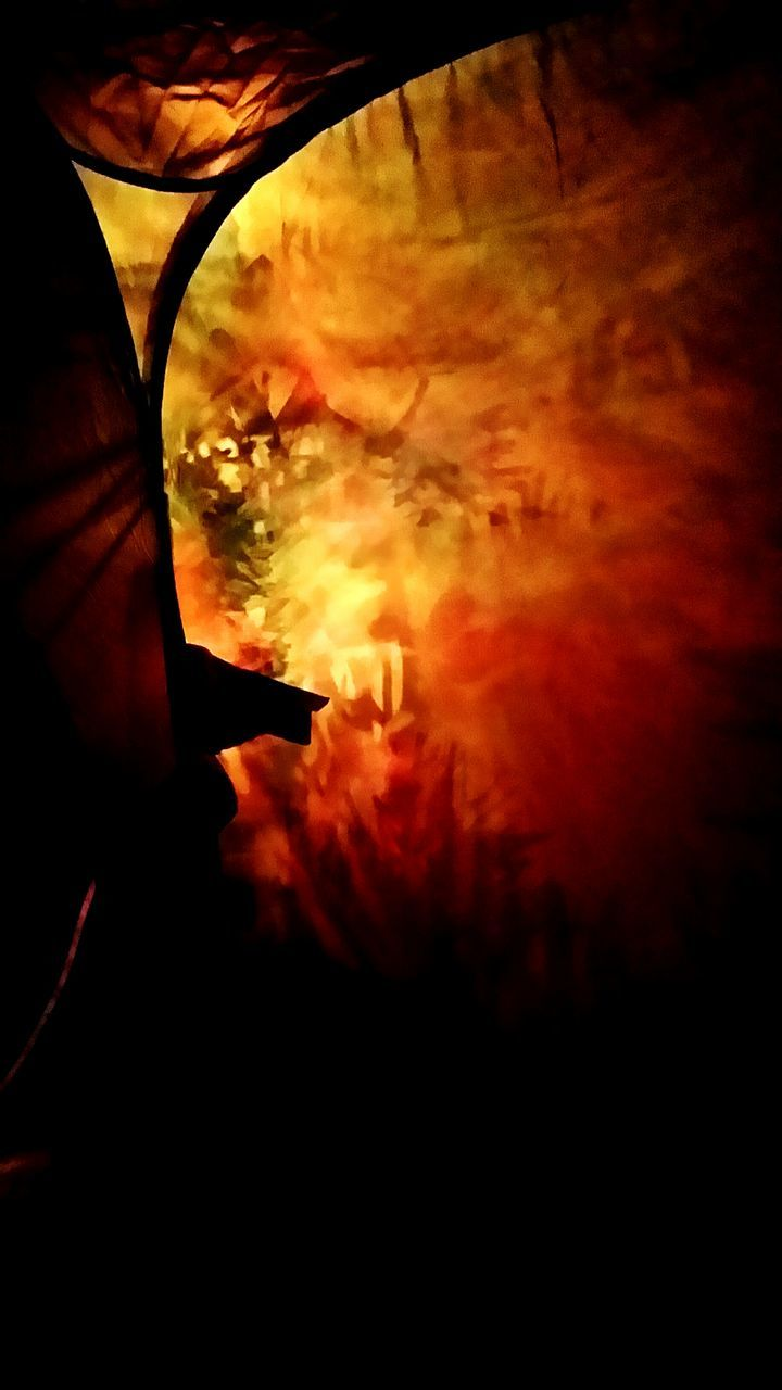 sunset, flame, silhouette, burning, real people, one person, danger, leisure activity, outdoors, human hand, beauty in nature, heat - temperature, lifestyles, nature, close-up, bonfire, sky, men, day, people